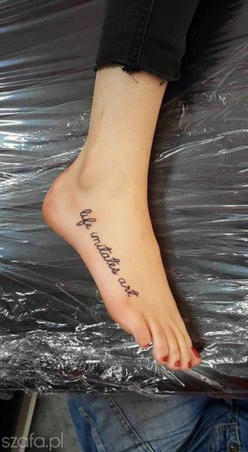 Tatuaż Na Stopie Czy Idzie Wytrzymać Ból Strona 7 Forum