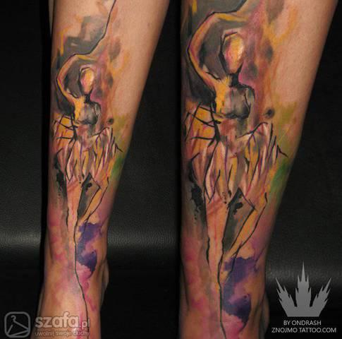 Tatuaże Jak Akwarele Forum Szafapl
