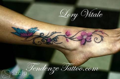 Tatuaż Na Stopie Czy Idzie Wytrzymać Ból Strona 5 Forum