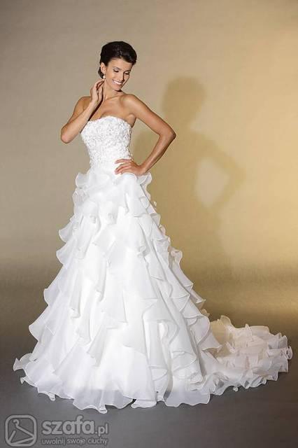 036fc92b70 moja suknia slubna - jaki kolor szarfy  - Forum Szafa.pl
