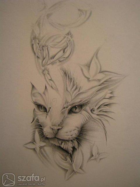 Tatuaż Kot Forum Szafapl