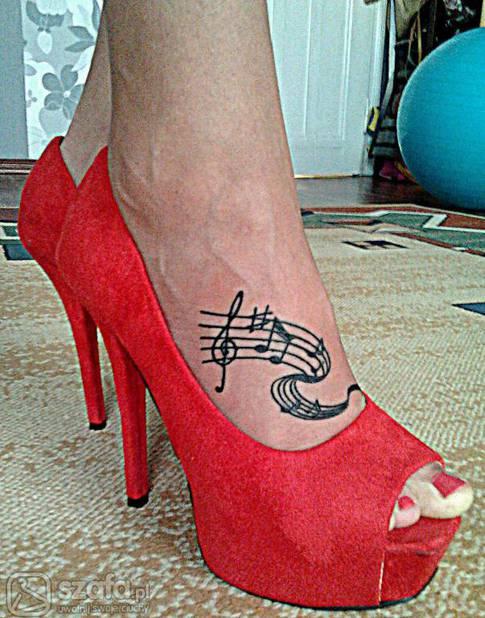 Tatuaż Na Stopie Czy Idzie Wytrzymać Ból Forum Szafapl