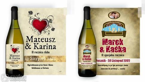 Personalizowane Wino Na ślub Forum Szafapl