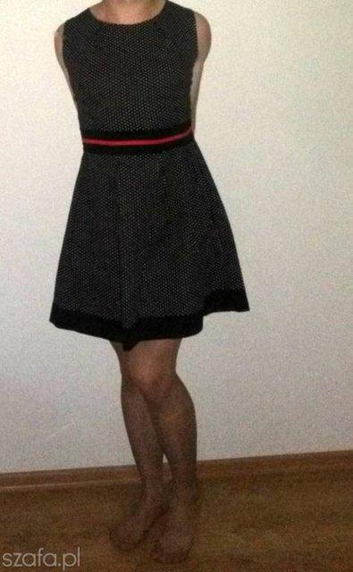 04690957bd Sukienka w groszki na wesele h n  - Forum Szafa.pl