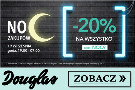 Douglas - Noc Zakupów