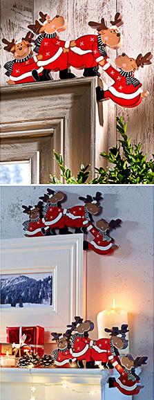 BonPrix - świąteczne renifery SMALL
