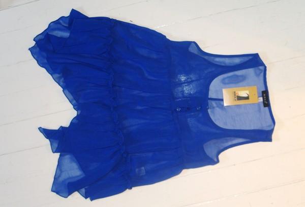 niebieska bluzeczka mgielka