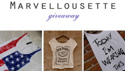 Marvellousette giveaway!