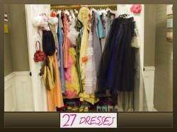 7 sukienek 1 wesele...