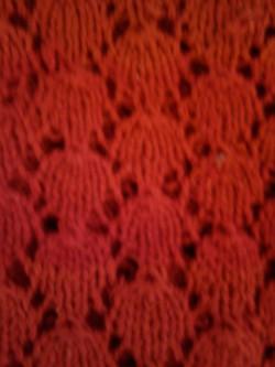 Czerwony wzór