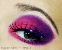 moje makijaze :)