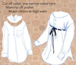 PRZERÓBKI - inna strona męskich koszul ;)