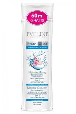 Eveline Hydra Expert płyn micelarny 3 w 1