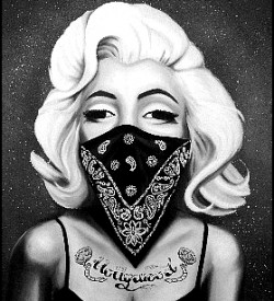 Marilyn Monroe i Zombie Boy