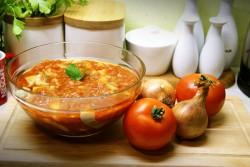 Śledzie pomidorowo miodowe