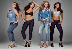 Moda i modelki XXL