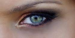 Elegancja - przesmaczyste ;] make up oko