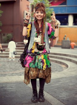 moda uliczna, street fashion