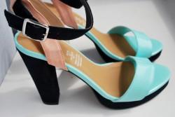 Sandałki na słupku H&M