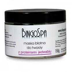 BingoSpa maska blotna z proteinami jedwabiu