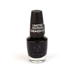 Recenzja - Lakier pękający W7 CRACKLE (kolor czarny)