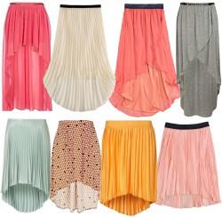 spódnice asymetryczne
