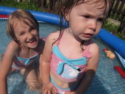 w basenie