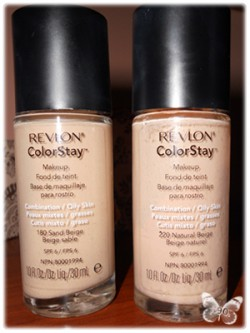 Recenzja - podkład Revlon Colorstay