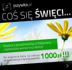KONKURS - Wygraj bony na zakupy na Pakamera.pl!
