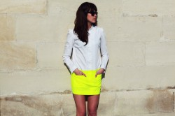 Zrób swoją własną neonową sukienkę!