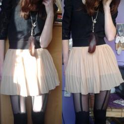 Kawowy outfit + niespodzianka :)