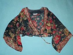 orientalna narzutka kimono