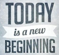 New beginning ...