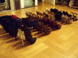 Moja kolekacja butów