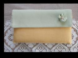 pastelowa kopertówka