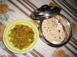 Gobi + Chapati