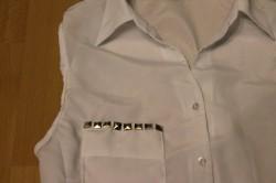 White Shirt DIY