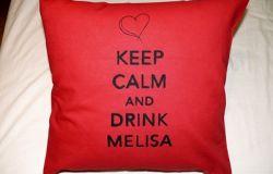 Poduszka na zamówinie z serii Keep Calm