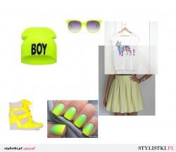 Zółto- zielony sposób by ZATRZYMAĆ LATO NA DŁUŻEJ :)