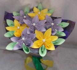 Bukiet z origami