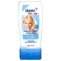 Rossmann, Isana Hair, Feuchtigkeits Spulung (Odżywka nawilżająca do włosów suchych i zniszczonych)
