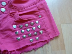 Hearts Shorts DIY