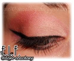 Lekcja makijażu - różowo-orzechowy