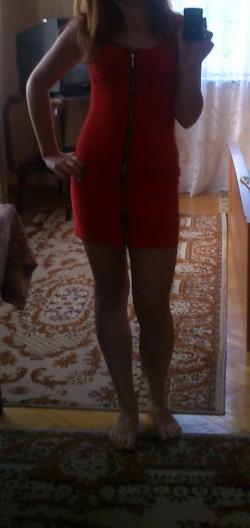 sukienka z allegro w realu