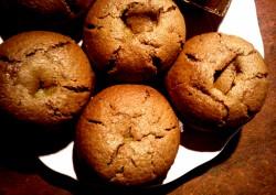 Muffinki z nadzieniem mango