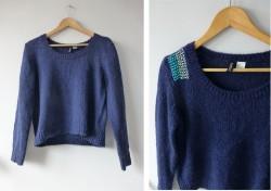 DIY sweterek