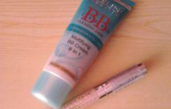 Eveline cream BB 8 w 1 i BB korektor kryjąco-roświetlający 8 w1