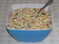 Sałatka jarzynowa z ryżem
