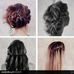 Pomysł na studniówkową fryzurę