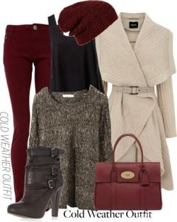 burgund - dobry kolor na jesien